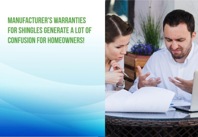 understanding manufacturer shingle warranties