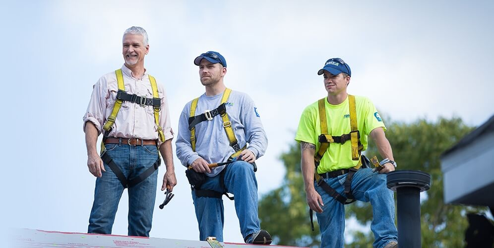 Keith Perry & Team – Perry Roofing Contractors