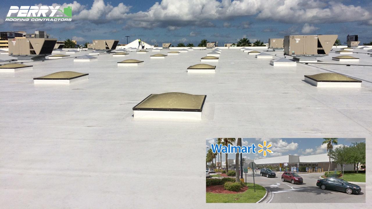 Walmart Roofing – Perry Roofing Contractors