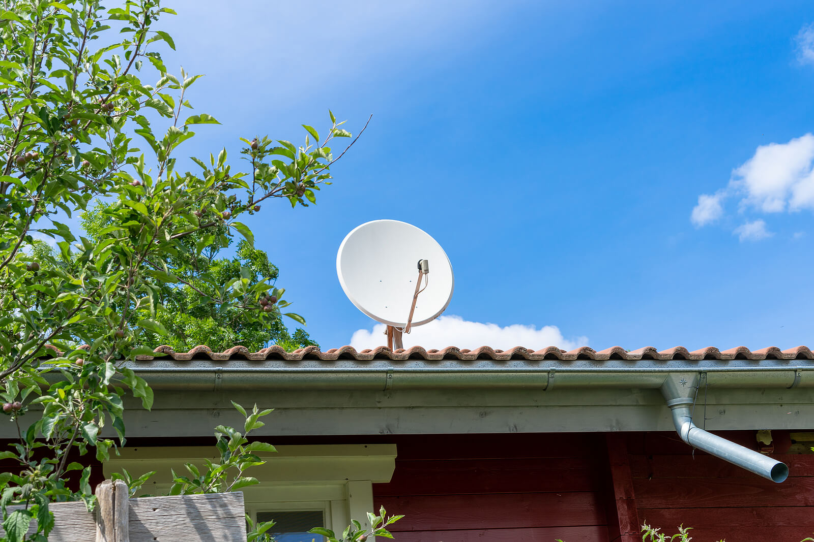 Perry Roofing Contractor- Why You Shouldn't Install a Satellite Dish on your roof